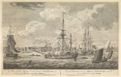 A View of His Majesty's Dockyard at Deptford